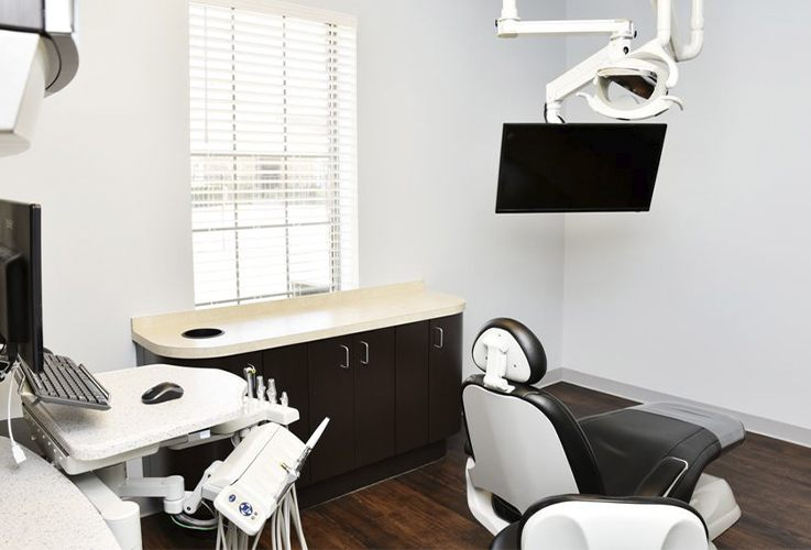 Allen dental office treatment room